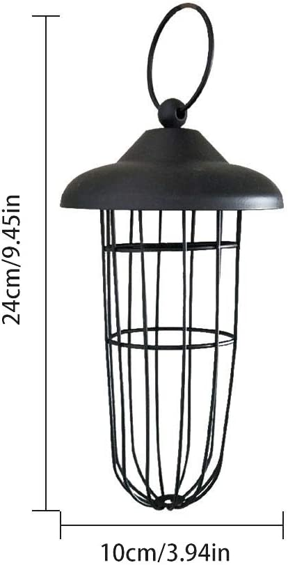 Sysow Support de boules de graisse en m/étal /à suspendre pour oiseaux sauvages