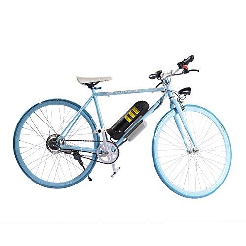 ELECTRIC Fixie Bike 350W 33MPH Alien Motor Wheels TM (BLUE/BLUE/BLUE/BLACK)