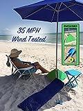 beachBUB All-In-One Beach Umbrella System (includes BUBrella, beachBUB Base & Accessory Kit) Review