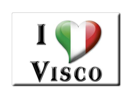 Enjoymagnets VISCO Souvenir IMANES DE Nevera Friuli Venezia Giulia ...