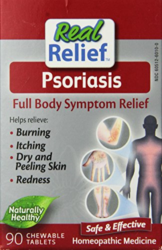 Real Relief Homeolab Psoriasis Tablets, 90 Count