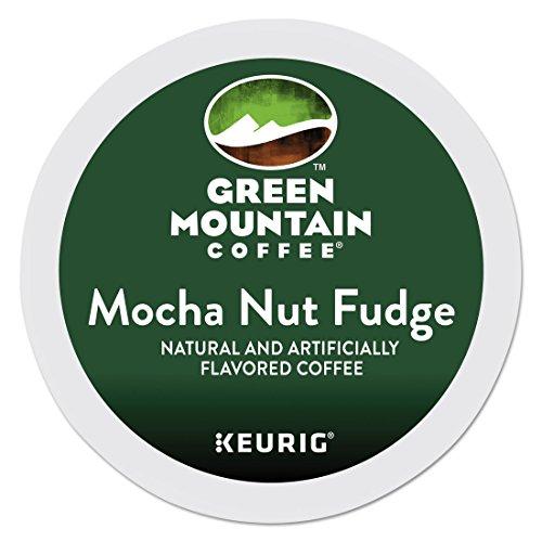 Green Mountain Coffee Roasters 6752 Mocha Nut Fudge Coffee K-Cups, 24/box - Mocha Nut Fudge