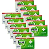 Dettol Anti-Bacterial Hand and Body Bar Soap, Original, 110...