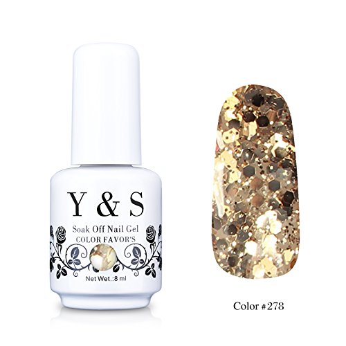 Yaoshun Gelpolish, Soak-off  UV LED Nail Art/Beauty Care 8ml
