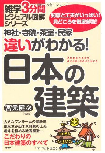 神社・寺院・茶室・民家 違いがわかる! 日本の建築 (雑学3分間ビジュアル図解シリーズ)
