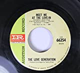 The Love Generation 45 RPM Meet me at the Love-in / She Touched Me