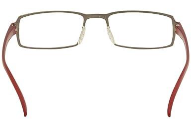 8a3a6fedb7e Porsche Design Eyeglasses P8146 P 8146 C Gunmetal Titanium Optical Frame  53mm  Amazon.co.uk  Clothing