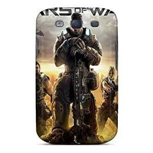 Anti-Scratch Hard Phone Covers For Samsung Galaxy S3 With Support Your Personal Customized Vivid Gears Of War 3 Series ChristopherWalsh