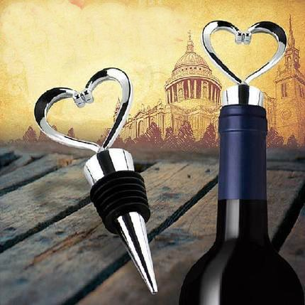 Lovelyou OTHER 11 Stainless Steel Love Design Heart Shape Wine and Beverage Bottle Stoppers (3) by Lovelyou (Image #3)
