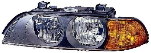 Depo 344-1110L-ASD BMW 5 Series Driver Side Replacement Headlight Assembly Bmw 540i Headlight Replacement
