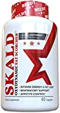SKALD First Fat Burner Pills with Repiratory Support - Best Weight Loss Supplements for Men and Women - Works Fast for Cardio, Endurance, HIIT, etc - Top Thermogenic Energy Booster.