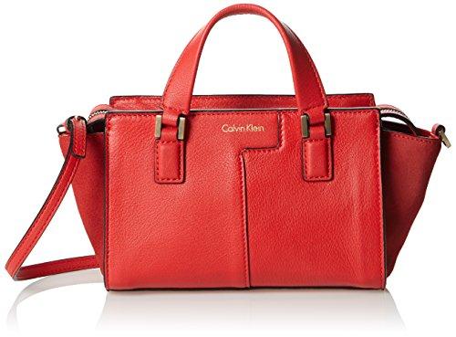 Klein FIERY SHARI x Women's 601 Red Calvin TOTE T MICRO 9x13x25 x H B cm Jeans RED Bag wS8UdqR