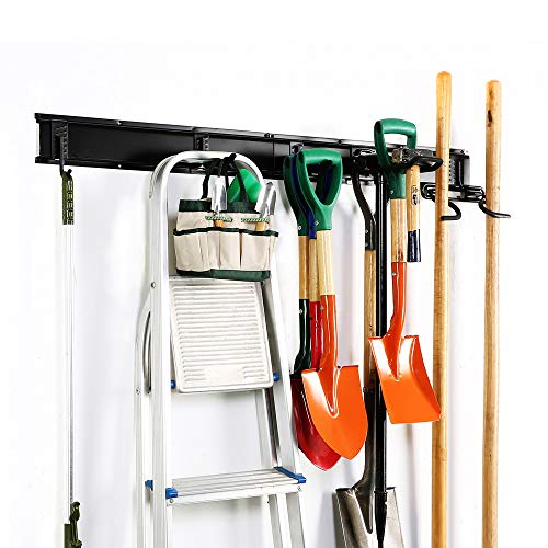 (Ultrawall 7PC Garage Storage System,Garage Hanger Tool Organizer with Hooks, Hanger)