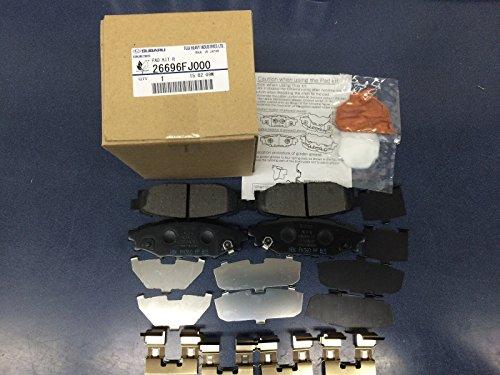 Price comparison product image SUBARU OEM 2012-2017 Impreza Crosstrek Forester Brake Rear Pads 26696FJ000 NEW
