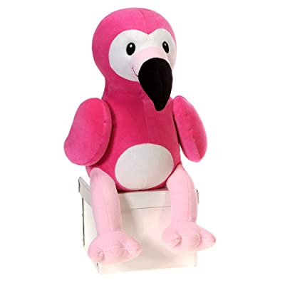 Fiesta Toys Huggy Huggables Pink Flamingo Plush Stuffed Animal Toy - 12 Inches: Toys & Games