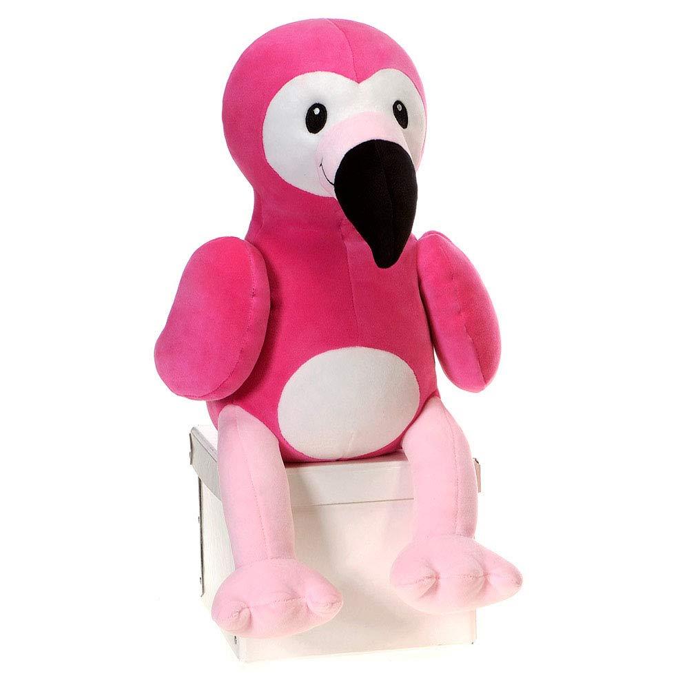 Fiesta Toys Huggy Huggables Pink Flamingo Plush Stuffed Animal Toy 12 Inches