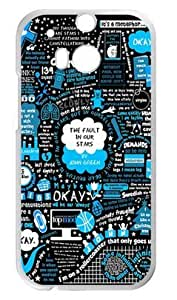 777Life The Fault In Our Stars Case Cover for HTC One M8, Fashion Funny Phone Cases