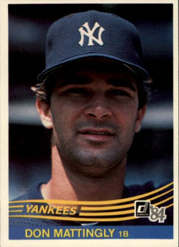 1984 Donruss Baseball Rookie Card #248 Don Mattingly Near Mint -