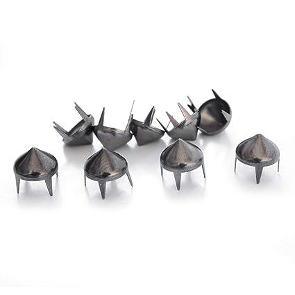 61464d46f2 Trimming Shop Gun Metal Black High Cone Spike Studs Rivets - Embellishment  for Bag