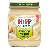 Hipp Organic Banana Yogurt Breakfast 4+ Months 125G