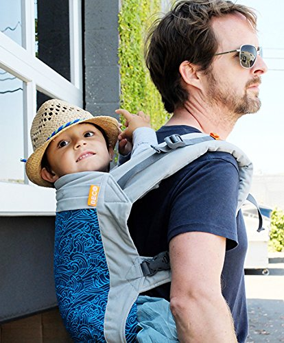 Beco Toddler Buckle Carrier For Toddlers and Pre-School Children - Wave Beco Baby Carrier Inc.