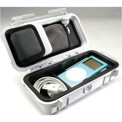 Pelican iPod Case for iPod and MP3 Players (White)