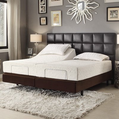 Sienna Comfort Electric Adjustable Bed Base With Wireless Remote