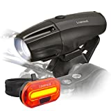 Lumintrail Super Bright USB Rechargeable LED Bike Light Set Headlight Taillight 1000 Lumen Safety Commuter Water Resistant Easy Install & Quick Release Review