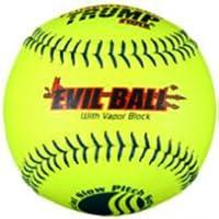"""Evil Ball 12"""" Evil-USSSA Hot Classic M Yellow .40/325 (DZ)"""