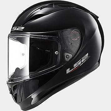 LS2 FF323 Flecha R EVO Casco de Moto de Cara Completa Cascos Integrales - Negro XXS