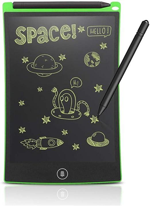 8.5インチLCDライティングタブレットデジタルドローイングタブレット手書きパッドポータブル電子タブレットボード超薄型ボード,グリーン