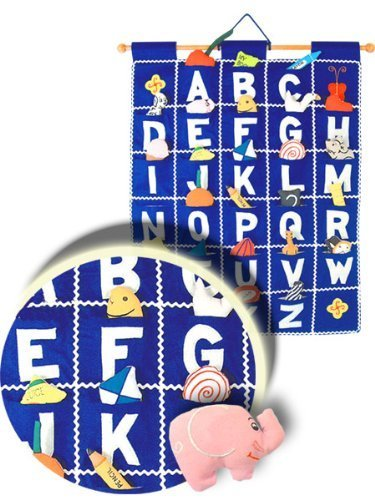 ABC Wall Hanging Blue Wall Hanging By Pockets Of Learning