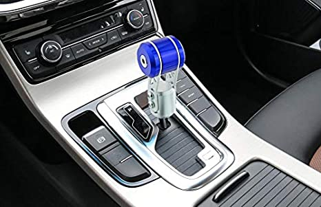 Blue Thunder Pattern Ball Shape MT Car Stick Shift Knob Fit Most Automatic Manual Vehicles Thruifo Gear Shifter Head