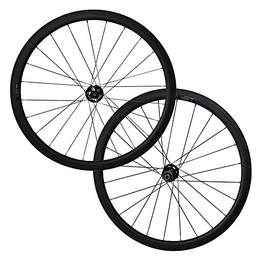 FidgetFidget wheelset Carbon Cyclocross Wheels U Shape 25mm Width Disc Brake 38mm Tubular