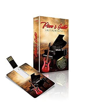 Music Card Piano Guitar Instrumentals 320 Kbps Mp3 Audio 4 GB