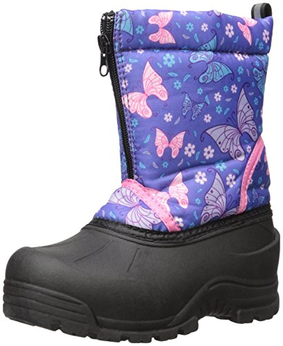 Northside Icicle Snow Boot (Toddler/Little Kid/Big Kid), Purple/Pink, 9 M US (Frosty Snow Boot)