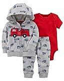 Carter's Baby Boys 3 Piece Cardigan Bodysuit and