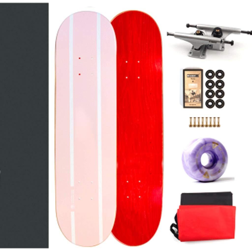 納得できる割引 スタントプロフェッショナル双方向傾斜ボードプロフェッショナルスケートボードアセンブリホールボードファンシーボードコールドプレッシャースケートボード Leaf) (色 : Leaf) Pink B07KTXK9DR : Pink Pink, そうざい男しゃく:5b33dbc9 --- a0267596.xsph.ru
