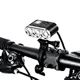 ITUO USB Rechargeable LED Bike Headlight Wiz-XP3 (Updated Version), Programmable & Waterproof Bicycle LED Front Light Helmet Light for Hiking, Camping, Mountain Road and City Bicycle Review