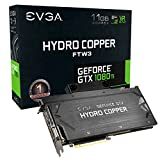 EVGA GeForce GTX 1080 Ti FTW3 Hydro Copper GAMING, 11GB GDDR5X, Hydro Copper Waterblock & RGB LED, iCX Technology – 9 Thermal Sensors 11G-P4-6699-KR