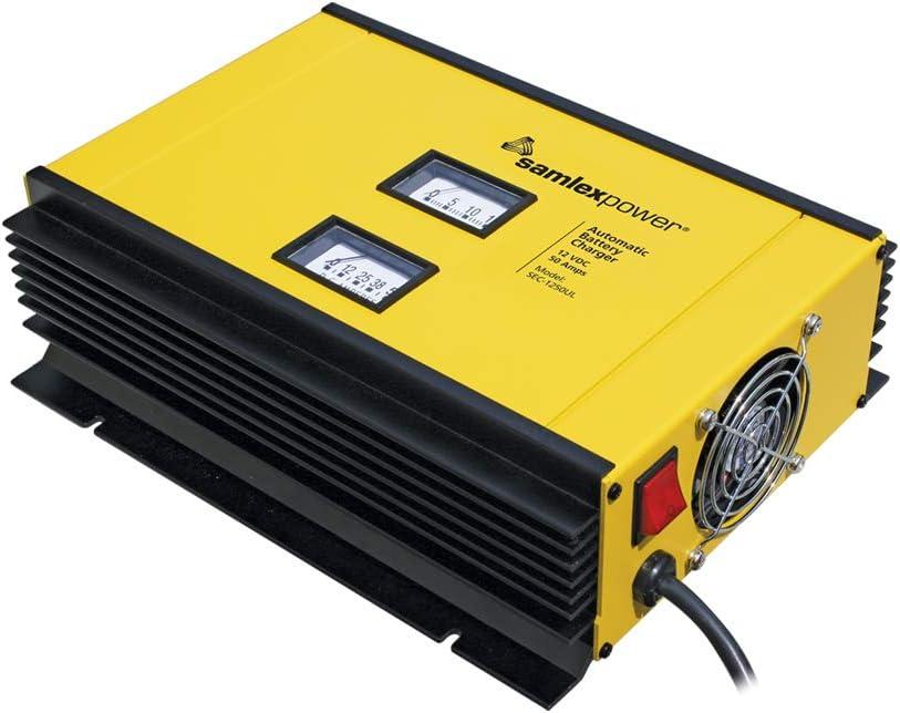 B00C5MZU9C Samlex Solar SEC-1250UL SEC-UL Series 12V Battery Charger 51bWEKnQzsL