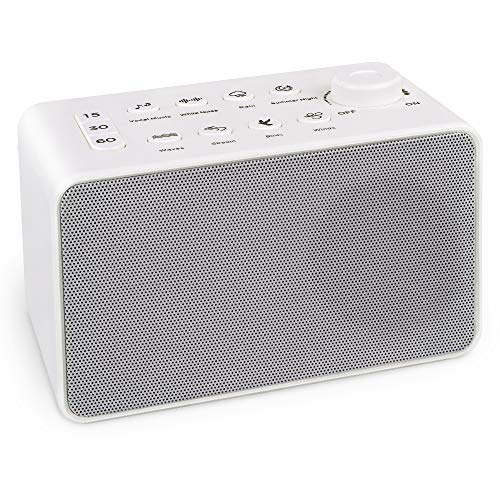 White Noise Sound Machine, Baby Sleeping Nursery Projector and Sound System for Sound Spa Relaxation