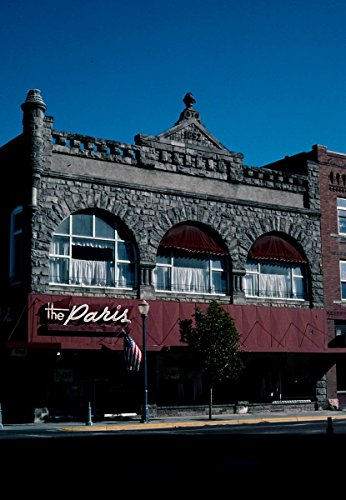 - Roadside America Photo Collection | 2004 The Paris Center, Pocatello, Idaho | Photographer: John Margolies | Historic Photographic Print 16in x 24in