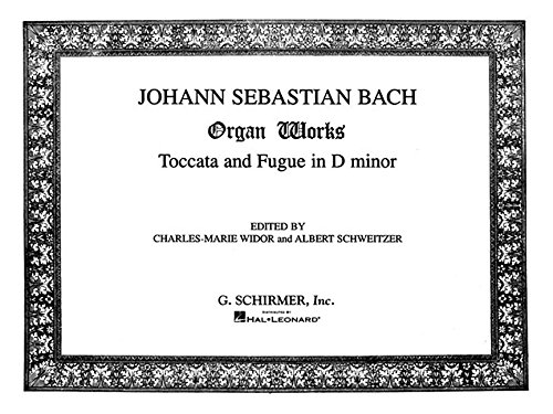 Toccata And Fugue In D Minor Organ (Bach Fugue In G Minor Violin Sheet Music)