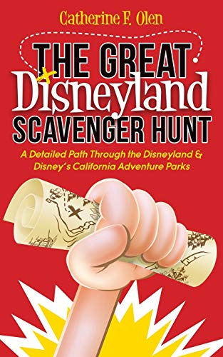 The Great Disneyland Scavenger Hunt: A Detailed Path throughout the Disneyland and Disney