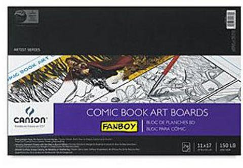 Fanboy Book Canson Comic (Canson Fanboy Comic Book cover sheets 1 pcs sku# 1829644MA)