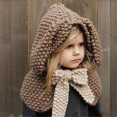 ☆ Bufanda para niños, Gorros Lindos para niños Sombrero Gancho Sombrero de Lana de Conejo Sombrero Sombrero más cálido de Invierno Absolute: Amazon.es: ...