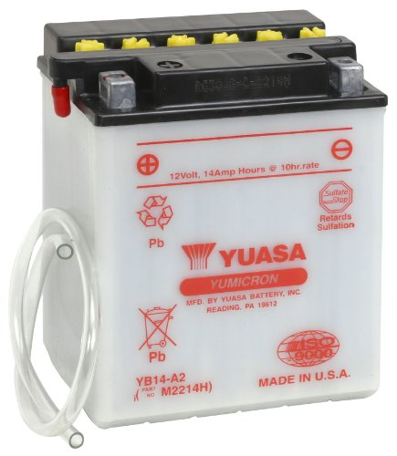 (Yuasa YUAM2214H YB14-A2 Battery)