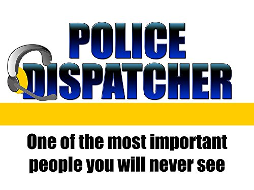 - Police Dispatcher Poster 911 Call Center Poster