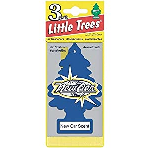 Little Trees Car Air Freshener, New Car Scent 3 ea (Pack of 24) by Little Trees